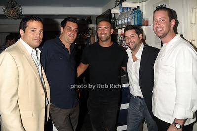 Antonio Fuccio,David Schulman,, Christian Arcello, Sean Kehlenbeck, Seth Levine  photo  by Rob Rich © 2011 robwayne1@aol.com 516-676-3939