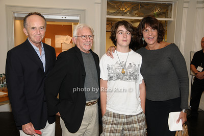 guest, Joe Pintauro, Jake Xavier Ruehl Geiser, Mercedes Ruehl photo by Rob Rich © 2009 robwayne1@aol.com 516-676-3939