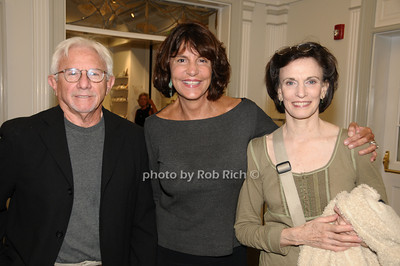 East Hampton-September 5:(l-r) Joe Pintauro, Mercedes Ruehl, and Tandy Cronyn  , attend  'Emmett, Down In My Heart' At Guild Hall in Easthampton on September 5, 2009. photo by Rob Rich/SocietyAllure.com