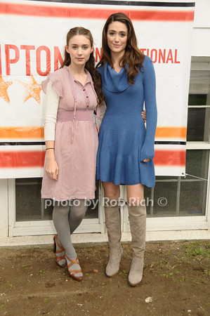 Rooney Mara, Emmy Rossum<br /> photo by Rob Rich © 2009 robwayne1@aol.com 516-676-3939