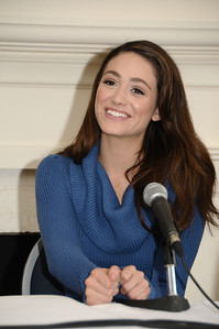 October 9,2009:Emmy Rossum  attends the HIFF Breakthrough Performers Roundtable Discussion  at The First Presbyterian Churchg  in Easthampton on  October 9, 2009. photo by Rob Rich/SocietyAllure.com