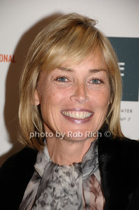 """October 11,2009: Sharon STone speaks  at the HIFF """"Conservations with Sharon Stone""""  at Bay Street theatre in Sag Harbor  on  October 11, 2009. photo by Rob Rich/SocietyAllure.com"""