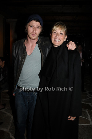 October 9,2009: Garrett Hedlund, Sharon Stone attends the HIFF Sloane reception at the Wolffer Estates in Sagaponack on October 9, 2009. photo by Rob Rich/SocietyAllure.com