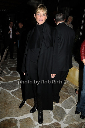 October 9,2009:Sharon Stone attends the HIFF Sloane reception at the Wolffer Estates in Sagaponack on October 9, 2009. photo by Rob Rich/SocietyAllure.com