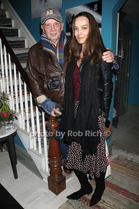 David Bailey and Catherine Bailey attend the 2nd day of the Hamptons International Film Festival. (October 14, 20110)