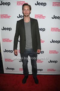 Actor Alexander Skarsgard from the movie Melancholia attends the 2nd day of the Hamptons International Film Festival. (October 14, 20110)