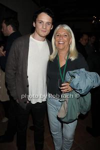 Anton Yelchin and Ellen Krass attend the HIFF Wolffer Estate party sponsored by Baume & Mercier at the Wolffer Vineyard (October 134, 2011),