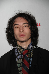 Ezra Miller attends the HIFF Wolffer Estate party sponsored by Baume & Mercier at the Wolffer Vineyard (October 134, 2011),