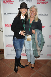 Heidi Banks and Ellen Krass attend the HIFF Wolffer Estate party sponsored by Baume & Mercier at the Wolffer Vineyard (October 134, 2011),