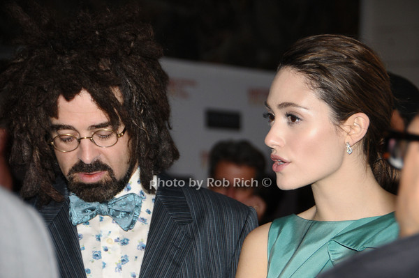 October 9,2009:Adam Duritaz and Emmy Rossum  attends the HIFF screening of DARE at the UA Cinema in Easthampton on October 9, 2009. photo by Rob Rich/SocietyAllure.com Adam Duritz, Emmy Rossum