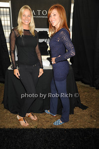 Kate Boyer, and Alisa Kaufman attend the Hampton Classic Horseshow Day 3. (September 2, 2011)