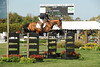 Leslie Howard competes at the Hampton Classic Horseshow Day 3. (September 2, 2011))