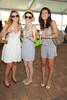 Megan Esteves, Sarah Cox,  and Marzi Alavi attend the Hampton Classic Horseshow Day 3. (September 2, 2011)