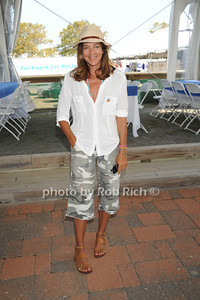 Kelly Klein attends the Hampton Classic Horseshow Day 3. (September 2, 2011)