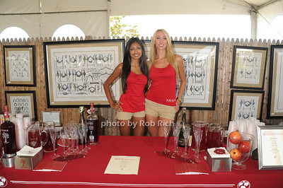 Melissa Singh and  Natalie Conboy attend the Hampton Classic Horseshow Day 3. (September 2, 2011)