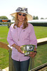 Patty Raynes attends the Hampton Classic Horseshow Day 3. (September 2, 2011)