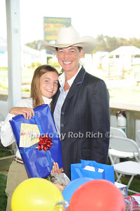 Lee Lee McNeil and Virginia McNeil attend the Hampton Classic Horseshow Day 3. (September 2, 2011)