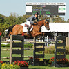 Schulyer Riley competes the Hampton Classic Horseshow Day 3. (September 2, 2011))