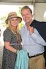 Kathy Hilton and Rick Hilton  attend  the Hampton Classic Horseshow (September 4, 2004)