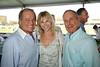 Rod Gilbert, Judy Gilbert, and Mayor Bloomberg attend the Hampton Classic Horseshow Grand Prix. (September 4, 2011)
