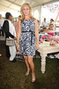 Sonya Morgan attends the Hampton Classic Horseshow (September 4, 2004)