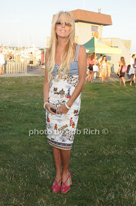 Dina Lohan attends the Hamptons Magazine Clambake at the Montauk Yacht Club (July 17, 2011)