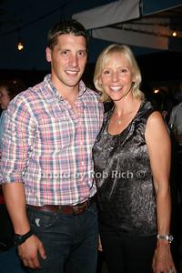 Matt Breitenbach and Susan Breitenbach attend the Hamptons Magazine Cover Party at the Capri Hotel (July 8, 2011)