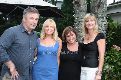 Alec Baldwin, Debra Halpert, Karen Arikian, Anne Chaisson photo by Rob Rich © 2009 robwayne1@aol.com 516-676-3939