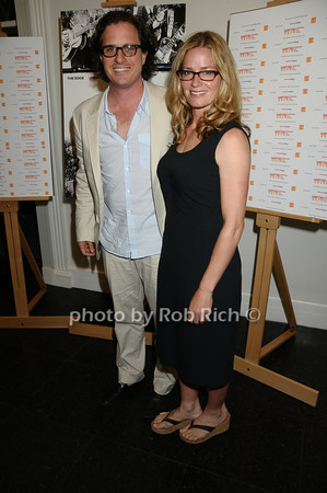 Davis Guggenheim, Elisabeth Shue,  photo by Rob Rich © 2009 516-676-3939