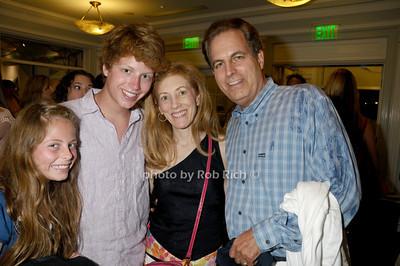Jillian Adler, Alex Adler, Shari Adler, Ed Adler photo by Rob Rich copyright 2009 516-676-3939