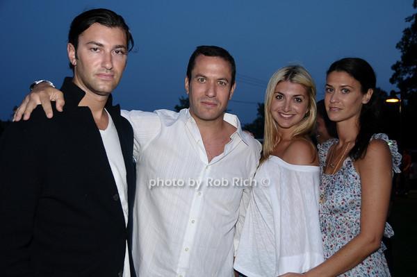 Douglas Wurtz, Eric Richman, Gabrielle Marcus, Amanda Wurtz<br /> photo by Rob Rich © 2009 robwayne1@aol.com 516-676-3939