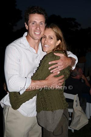 Chris Cuomo and Cristina Greeven Cuomo<br /> photo by Rob Rich © 2009 robwayne1@aol.com 516-676-3939