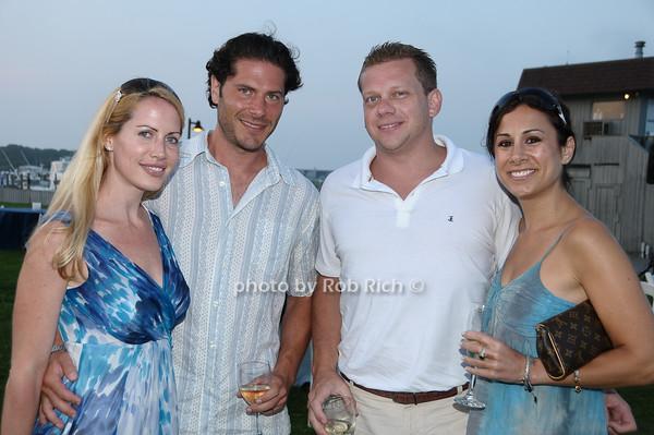 Alicia Colodner, Zach Colodner, James Goll, Debra Baron<br /> photo by Rob Rich © 2009 robwayne1@aol.com 516-676-3939