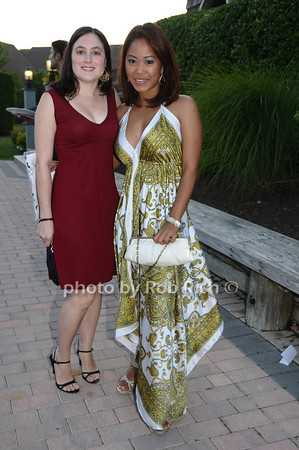 Angie Reinoso and Lowella Masong<br /> photo by Rob Rich © 2009 robwayne1@aol.com 516-676-3939