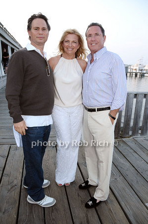 Jason Binn, Debra Halpert, Andrew Farkas<br /> <br /> photo by Rob Rich © 2009 robwayne1@aol.com 516-676-3939