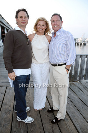 Jason Binn, Debra Halpert, Andrew Farkas<br /> <br /> photo by Rob Rich © 2009 robwayne1@aol.com 516-676-3939