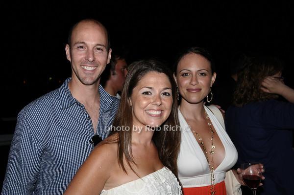 Kevin Fisher, Elisa DiStefano, Elana Leon-Forte<br /> photo by Rob Rich © 2009 robwayne1@aol.com 516-676-3939