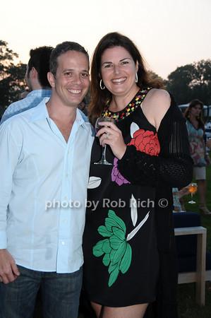 Doug Osrow, Elizabeth Blau<br /> photo by Rob Rich © 2009 robwayne1@aol.com 516-676-3939