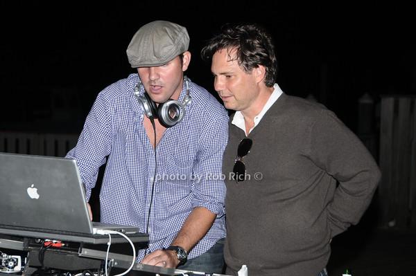 DJ Clockwork, Jason Binn<br /> photo by Rob Rich © 2009 robwayne1@aol.com 516-676-3939