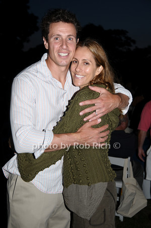 Chris Cuomo and Cristina Greeven Cuomo<br /> photo by Rob Rich © 2009 robwayne1@aol.com 516-676-3939