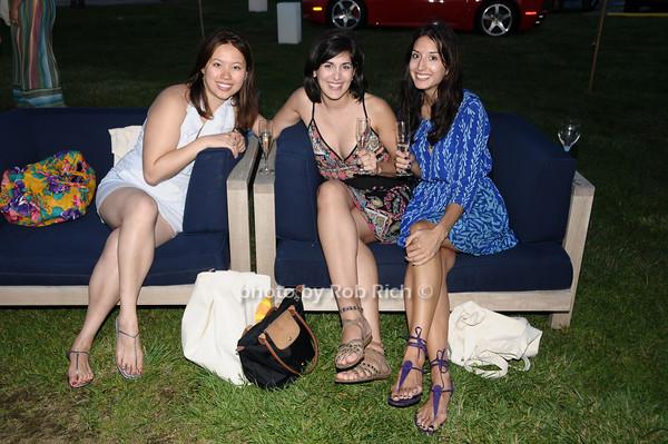 Carolyn Hsu, Cynthia Samanian, Vanessa O'Hara<br /> photo by Rob Rich © 2009 robwayne1@aol.com 516-676-3939
