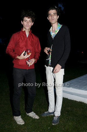 Connor Hanwick and Louis Epstein<br /> photo by Rob Rich © 2009 robwayne1@aol.com 516-676-3939
