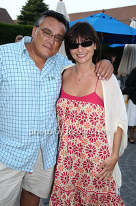 Gregory Partanio and Lubna Dajani photo by Rob Rich © 2009 robwayne1@aol.com 516-676-3939