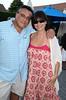 Gregory Partanio and Lubna Dajani<br /> photo by Rob Rich © 2009 robwayne1@aol.com 516-676-3939