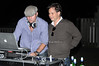 DJ Clockwork, Jason Binn<br /> photo by Rob Rich © 2009 robwayne1@aol.com 516-676-3939