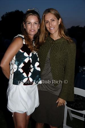Jan Esposito and Cristina Greeven Cuomo<br /> photo by Rob Rich © 2009 robwayne1@aol.com 516-676-3939