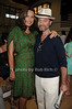 Mariska Hargitay and Fisher Stevens attend  the Hamptons for Haiti Brunch at the Ross School (July 17, 2011)