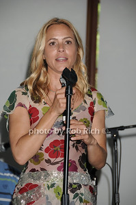 Maria Bello attends  the Hamptons for Haiti Brunch at the Ross School (July 17, 2011)