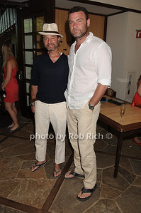 Fisher Stevens and Liev Shrieber attend  the Hamptons for Haiti Brunch at the Ross School (July 17, 2011)