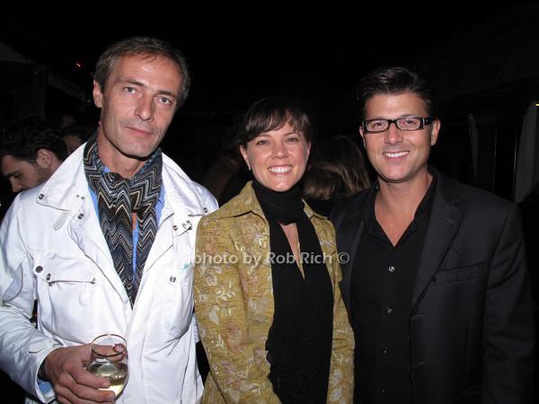 guest, Amanda Pennington, Frank Cilione<br /> photo by Rob Rich © 2009 robwayne1@aol.com 516-676-3939